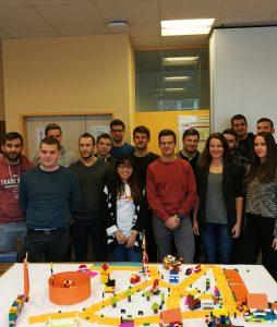 Strokovna ekskurzija študentov v podjetji BearingPoint Technology in Comtrade