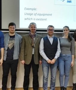 Visiting guest lecturer assoc. prof. Dr. Pavlo Brin