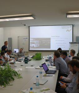 Projekt »SmartVillages– Smart digital transformation of villages in the Alpine Space«