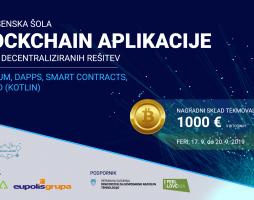Tretja počitniška šola Blockchain aplikacij – »Razvoj decentraliziranih rešitev«