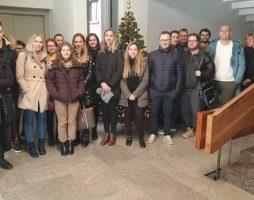 Strokovna ekskurzija študentov ITK na Institut informacijskih znanosti (IZUM)