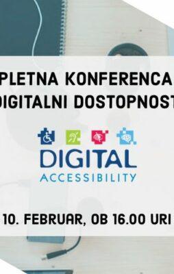 Spletna konferenca o digitalni dostopnosti