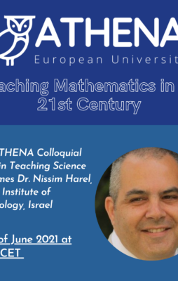 Poučevanje matematike v 21 stoletju: dr. Nissim Harel