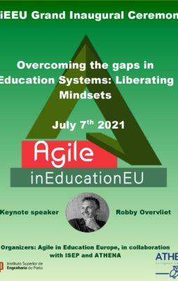 ATHENA ustanavlja »Agilno v izobraževanju Evropa«