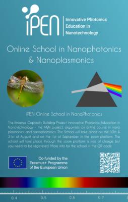 Spletna delavnica School in Nanoplasmonics & NanoPhotonics