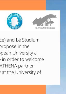 Razpis programa gostujočih raziskovalcev evropske univerze ATHENA